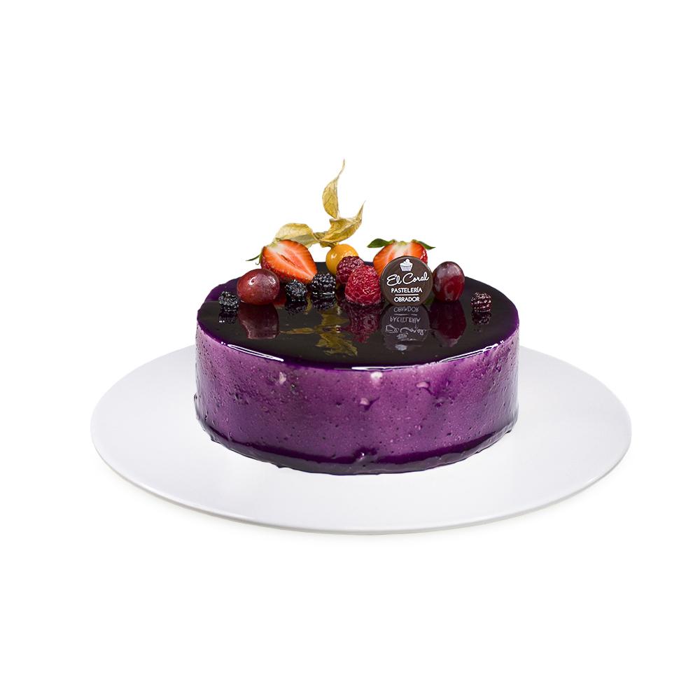 tarta pétalo de violeta